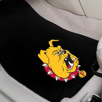 FanMats® - Black Carpet Mats with Ferris State University Logo