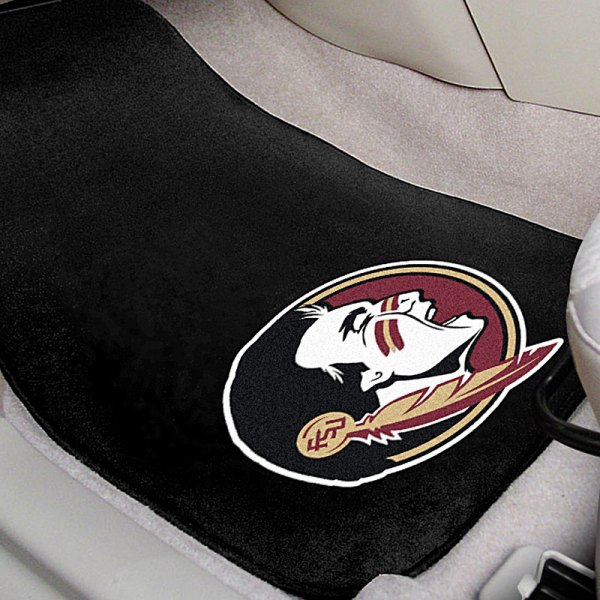 FanMats® Florida State University Seminole Logo on Collegiate Carpet Mats