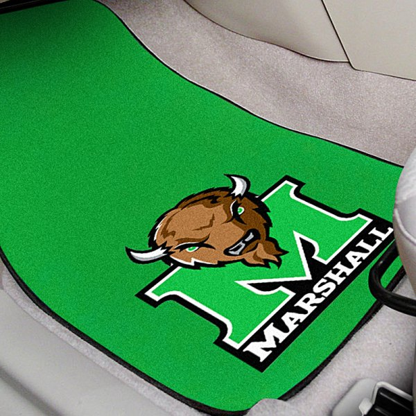 FanMats® Marshall University Logo on Collegiate Carpet Mats