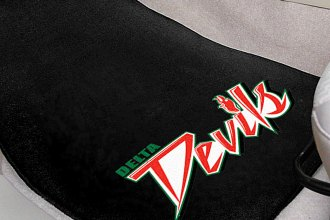 FanMats® Black Carpet Mats with Mississippi Valley State University Logo