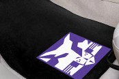 FanMats® New York University Logo on Collegiate Carpet Mats