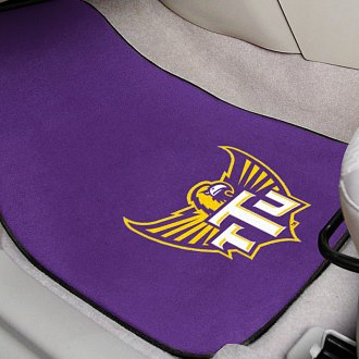 FanMats® - Purple Carpet Mats with Tennessee Technological University Logo