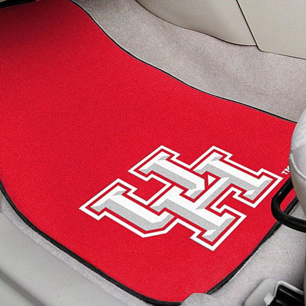 FanMats® Red Carpet Mats with University of Houston Logo