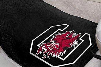 FanMats® 5481 - University of South Carolina Logo on Carpet Car Mats