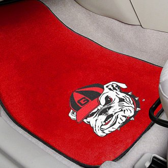 FanMats® - Red Carpet Mats with University of Georgia - Bulldog Logo