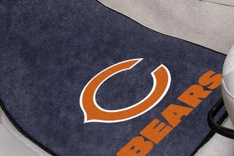 FanMats® 5710 - Chicago Bears Logo on Carpet Car Mats