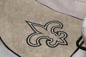 FanMats® New Orleans Saints Logo on Sport Team Carpet Mats