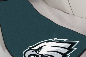 FanMats® 5820 - Philadelphia Eagles Logo on Carpet Car Mats
