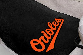 FanMats® 6329 - Baltimore Orioles Logo on Carpet Car Mats