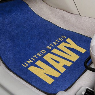 FanMats® - Universal Fit Carpet Car Mats (Military)