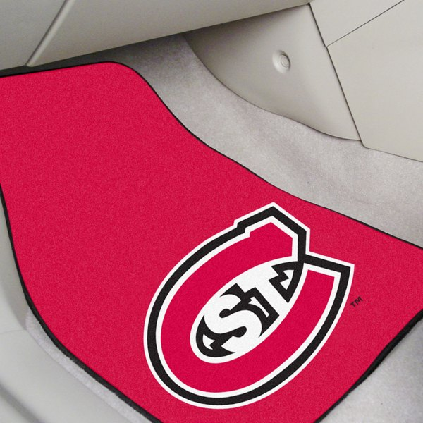 FanMats® Brown Carpet Mats with St. Cloud State University Logo