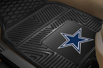 FanMats® 8274 - Dallas Cowboys Logo on Heavy Duty Vinyl Mats