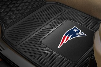 FanMats® 8754 - New England Patriots Logo on Heavy Duty Vinyl Mats