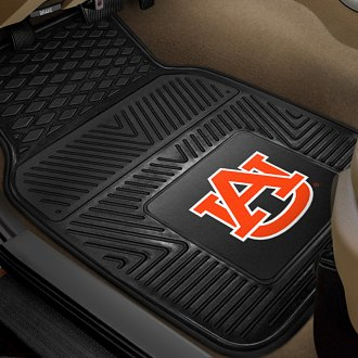 FanMats® - 1st Row Collegiate Heavy Duty Vinyl Car Mats with Auburn University Logo