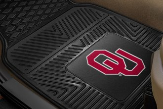 FanMats® 8765 - University of Oklahoma Logo on Heavy Duty Vinyl Mats