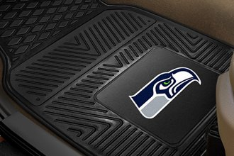 FanMats® 8904 - Seattle Seahawks Logo on Heavy Duty Vinyl Mats