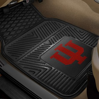 FanMats® - 1st Row Collegiate Heavy Duty Vinyl Car Mats with Indiana University Logo
