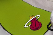 FanMats® Miami Heat Logo on Sport Team Carpet Mats