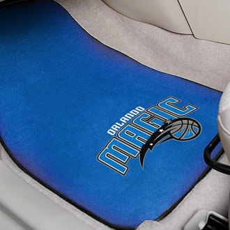 FanMats® - Blue Carpet Mats with Orlando Magic Logo