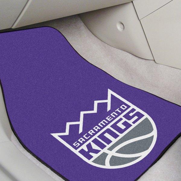 Fanmats 174 9397 Purple Carpet Mats With Sacramento Kings Logo