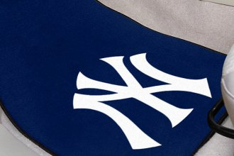 FanMats® - Sports Team Carpet Mats with New York Yankees Logo