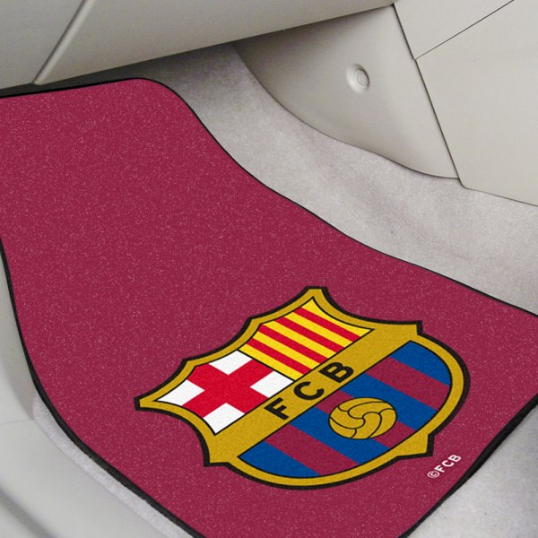 FanMats® - Red Carpet Mats with FC Barcelona Logo