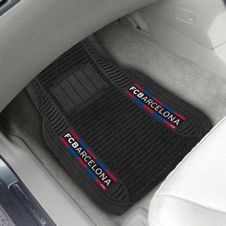 FanMats® - Deluxe Vinyl Car Mats with FCBarcelona Logo