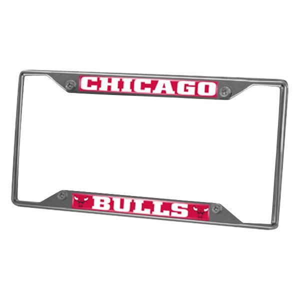 FanMats® 14847 - Sport NBA Chrome License Plate Frame with Chicago ...
