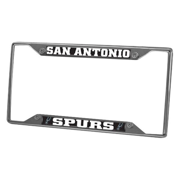 FanMats® 14892 - Sport NBA Chrome License Plate Frame with San ...