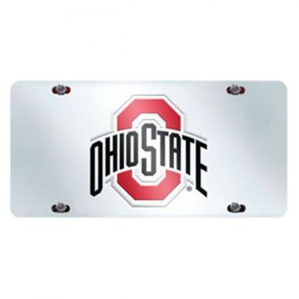 FanMats® - Collegiate License Plate Inlaid