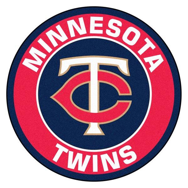"FanMats® 18142 - Minnesota Twins 27"" Dia Nylon Face Floor ..."