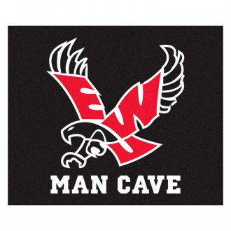 FanMats® - Eastern Washington University Logo on Man Cave Tailgater Floor Mat