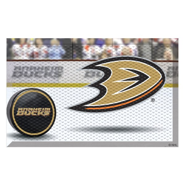 FanMats® Anaheim Ducks Logo on Door Scraper Mat