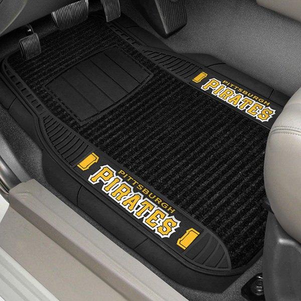 FANMATS MLB Pittsburgh Pirates Nylon Face Carpet Car Mat