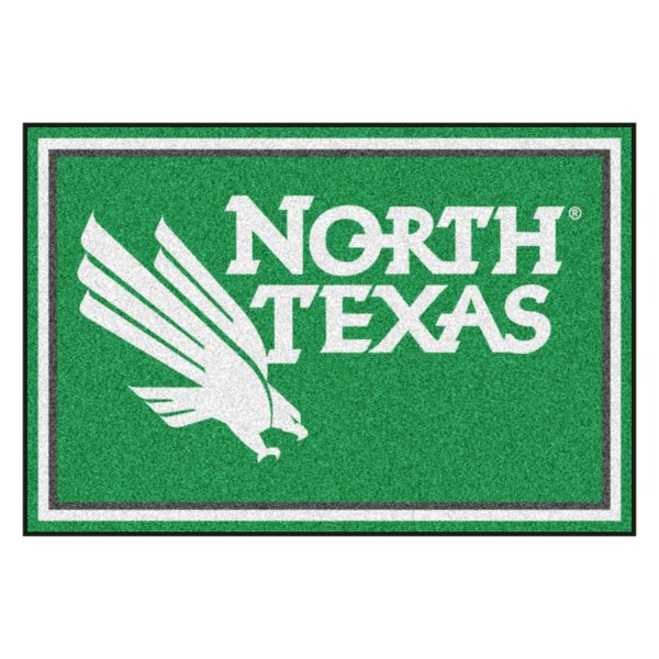 Fanmats 174 19698 University Of North Texas On 5x8 Area Rug