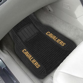 FanMats® - 1st Row Deluxe Vinyl Car Mats with Cleveland Cavaliers Logo