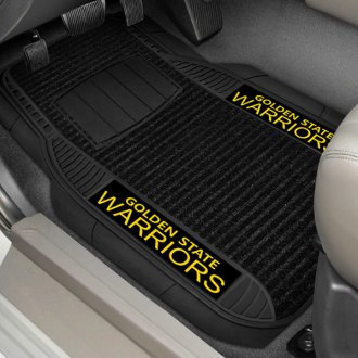 FanMats® - 1st Row Deluxe Vinyl Car Mats with Golden State Warriors Logo