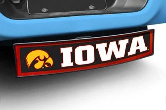 FanMats® - Light Up College Hitch Cover with University of Iowa Logo for 2