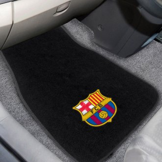 FanMats® - FC Barcelona Logo on Embroidered Floor Mats