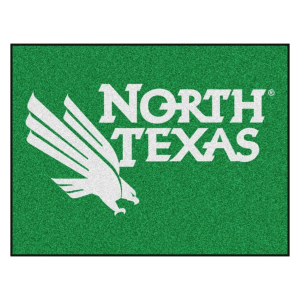 Fanmats 174 2797 University Of North Texas Logo On All Star Mat