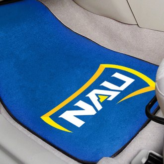 FanMats® - Blue Carpet Mats with Northern Arizona University Logo