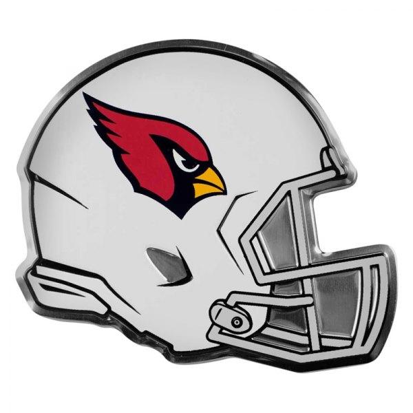"FanMats® - NFL ""Arizona Cardinals"" Red/White Embossed Helmet Emblem"