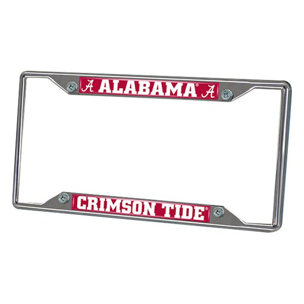 FanMats® - Frame License Plate (College, Alabama, University of Alabama)