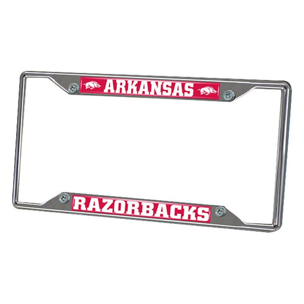 FanMats® - Frame License Plate (College, Arkansas, University of Arkansas)