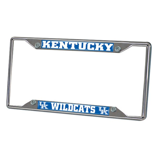 FanMats® - University of Kentucky Logo on License Plate Frame