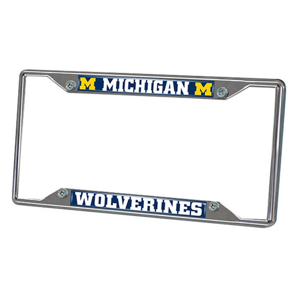 FanMats® - Frame License Plate (College, Michigan, University of Michigan)