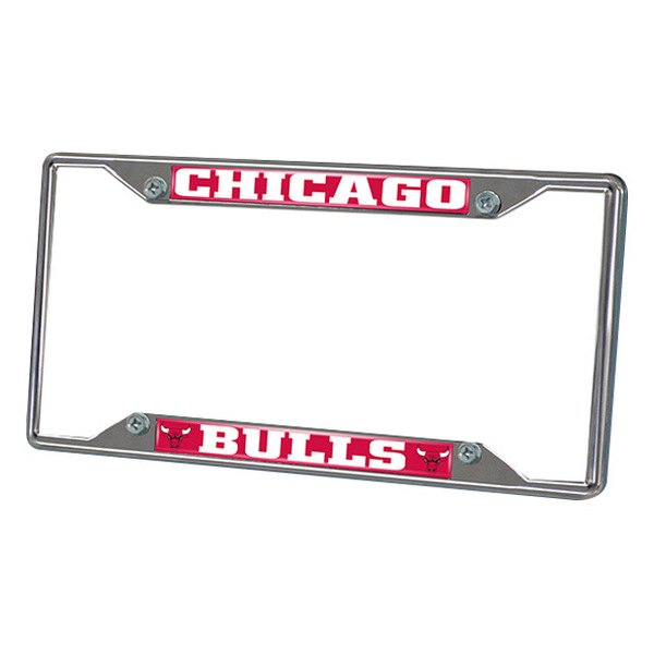 FanMats® - Frame License Plate (Sports, NBA, Chicago Bulls)