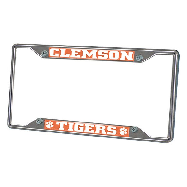 FanMats® - Frame License Plate (College, South Carolina, Clemson University)
