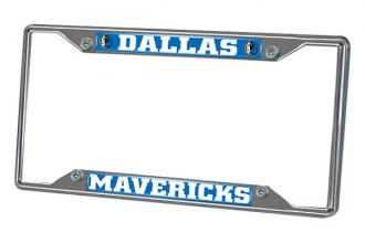 FanMats® - Frame License Plate (Sports, NBA, Dallas Mavericks)