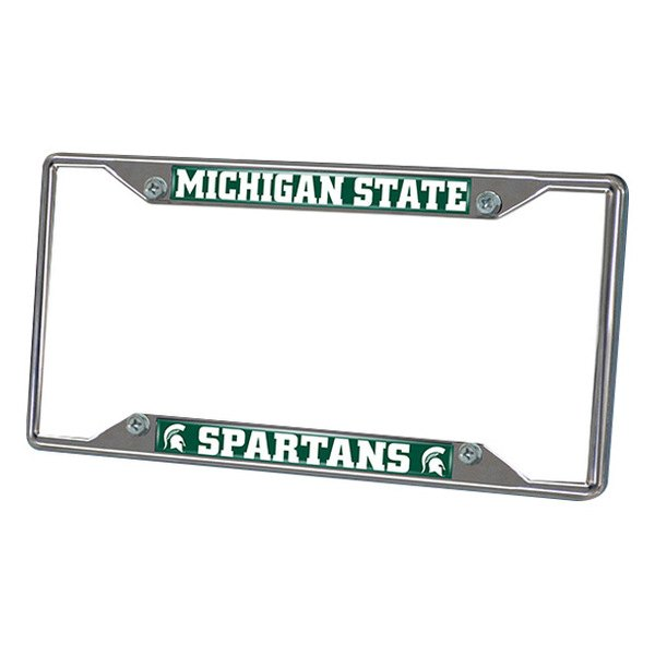 FanMats® - Frame License Plate (College, Michigan, Michigan State University)